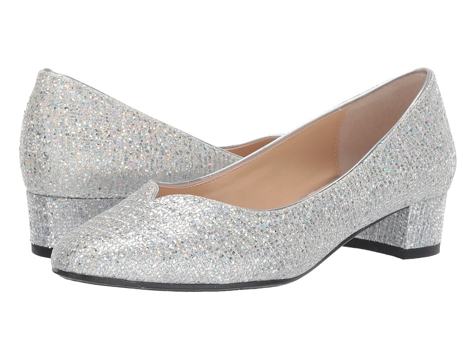 Silver Prom Shoes - Smart Wide Width Shoes
