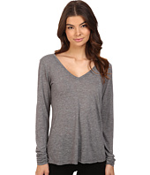 Michael Stars - Brooklyn Jersey Long Sleeve Vee Neck