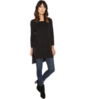 Michael Stars - Cotton Supima Slub Scoop Neck Tunic w/ Side Slits