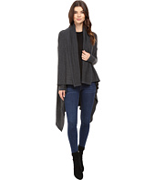 Michael Stars - Super Soft Madison Rib Convertible Cape Cardigan