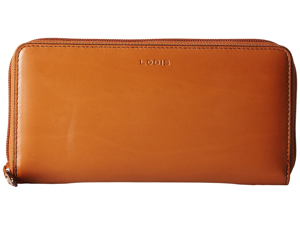 Lodis Accessories - Audrey Ada Zip Wallet (Toffee) Wallet Handbags