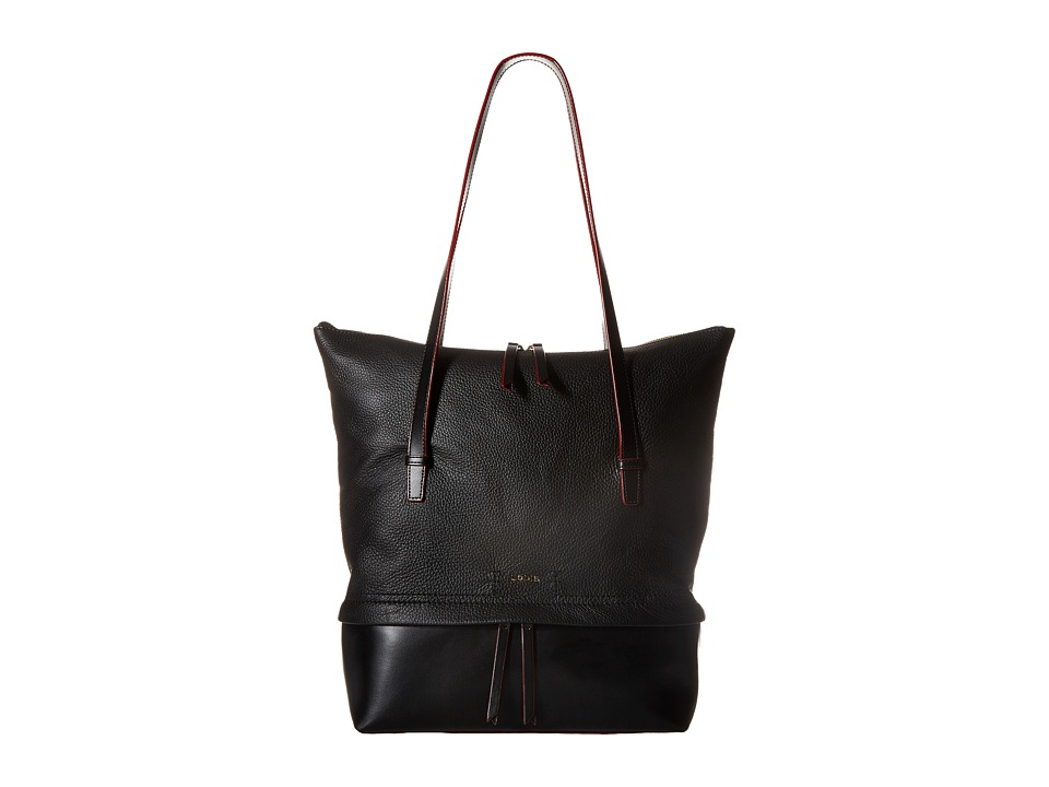 Lodis Accessories - Kate Barbara Commuter Tote (Black) Tote Handbags