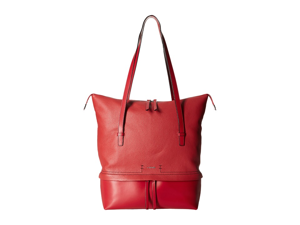 Lodis Accessories - Kate Barbara Commuter Tote (Red) Tote Handbags