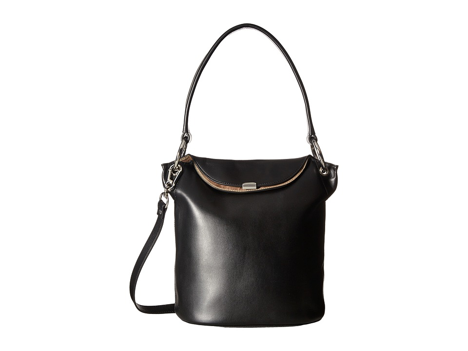 Lodis Accessories - Amy Lainy Convertible Bucket (Black) Convertible Handbags