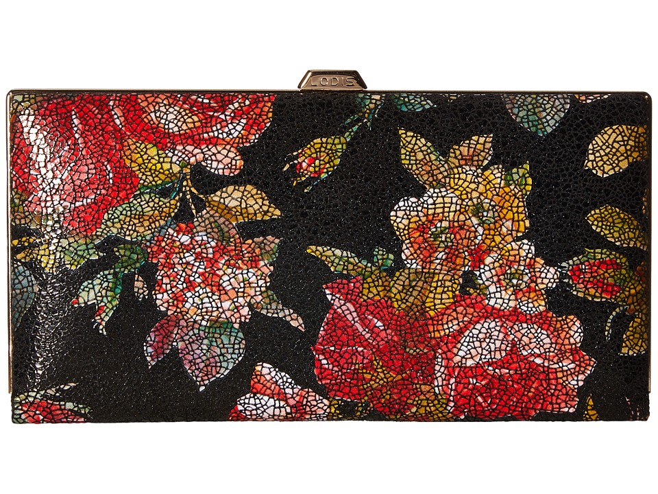 Lodis Accessories Rosalia Quinn Clutch Wallet (Multi) Clutch Handbags