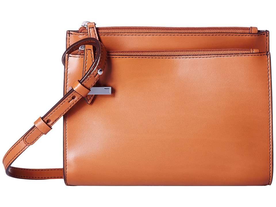 Lodis Accessories - Audrey Trisha Double Zip Wallet On A String (Toffee) Wallet Handbags