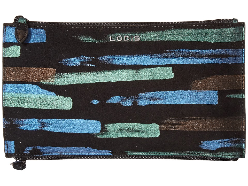 Lodis Accessories - Granada Lani Double Zip Pouch (Multi) Travel Pouch