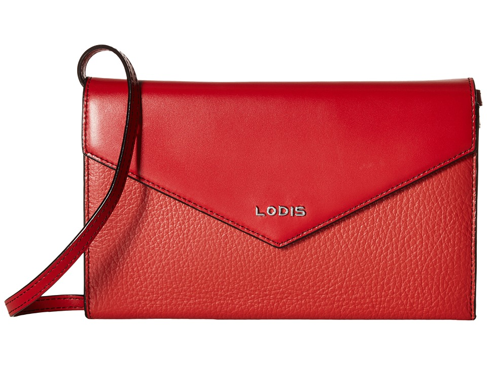 Lodis Accessories - Kate Gabi Wallet On A String (Red) Wallet Handbags