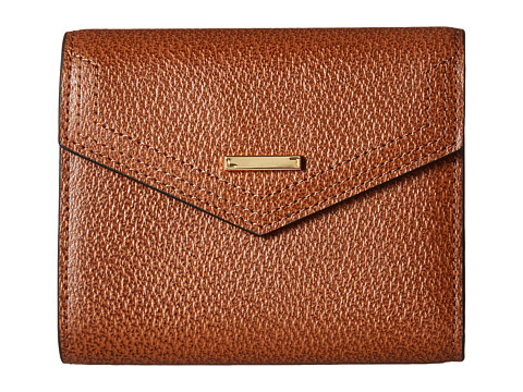 Lodis Accessories Stephanie RFID Under Lock & Key Lana French Purse - Chestnut