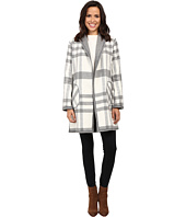 Michael Stars - Double-Faced Flanel Plaid Reversible Coat