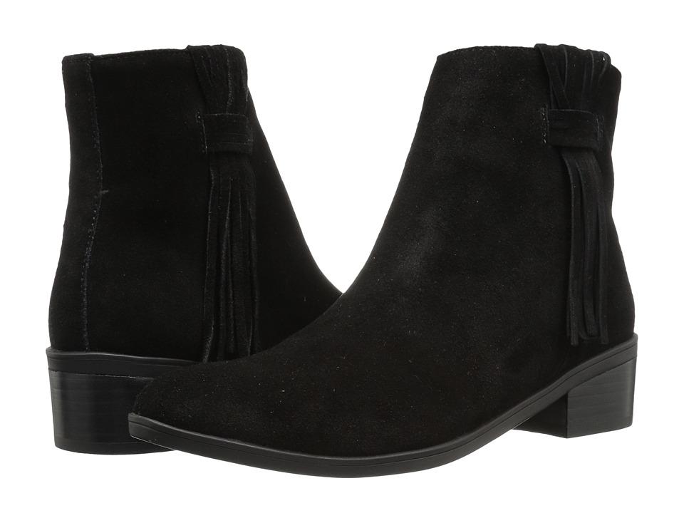 Bella-Vita Fern (Black Suede Leather) Women