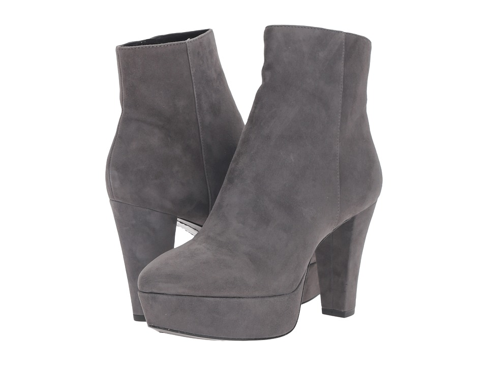 Image of Alice + Olivia - Adrian (Charcoal Prime Suede) Women's Shoes