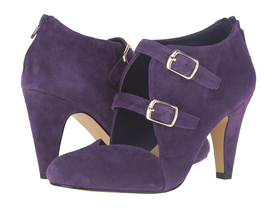 Bella-Vita - Niko (Eggplant Kid Suede Leather) High Heels