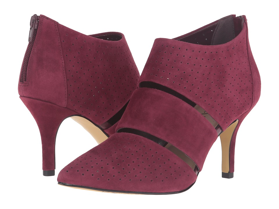 Bella-Vita - Danica (Burgundy Kid Suede Leather) High Heels