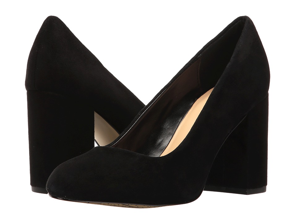 Bella-Vita Nara (Black Kid Suede Leather) High Heels