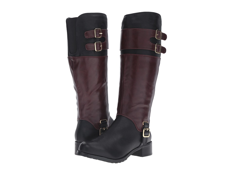 Image of Bella-Vita - Adriann II (Black/Burgundy) Women's Boots