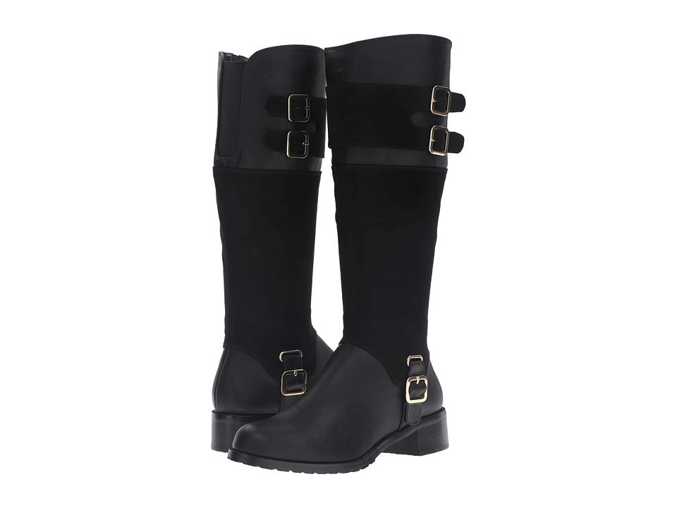 Image of Bella-Vita - Adriann II (Black/Super Suede) Women's Boots