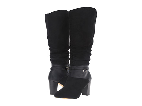 Bella-Vita Tabitha II Plus - Black Super Suede/Black