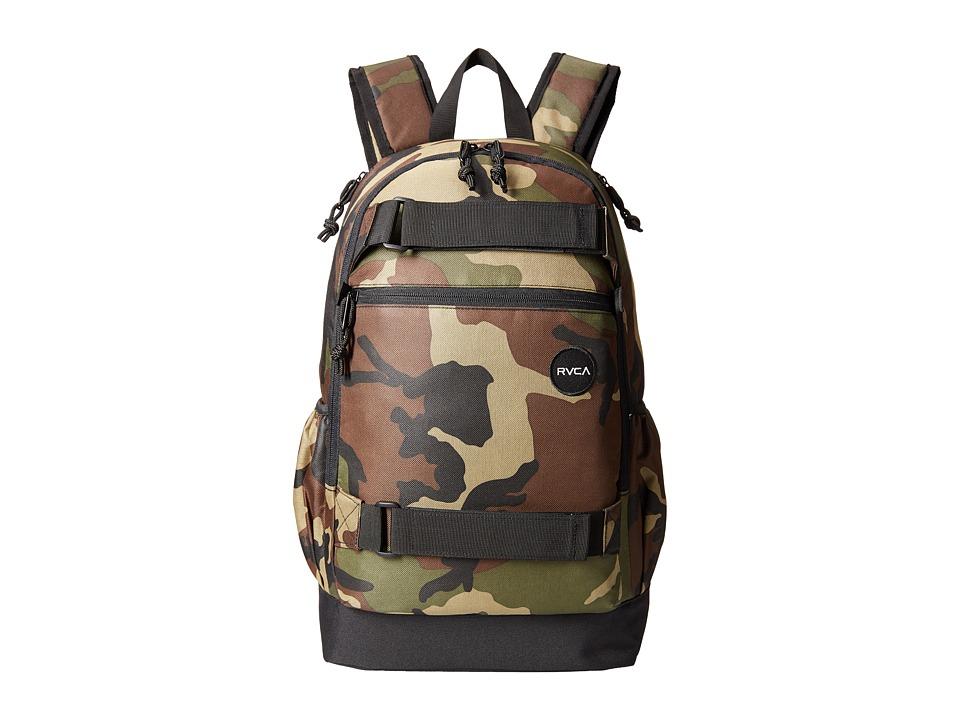 RVCA - Push Skate Backpack (Camo) Backpack Bags