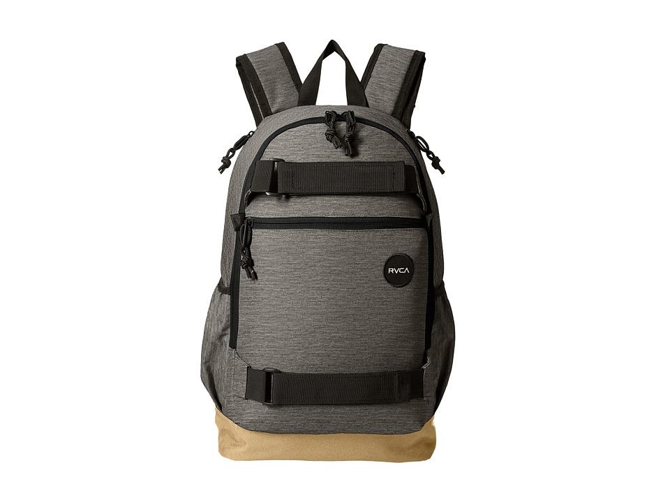 RVCA - Push Skate Backpack (Heather Grey) Backpack Bags