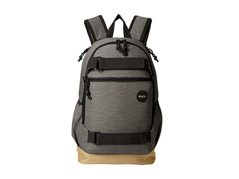RVCA Push Skate Backpack - Heather Grey