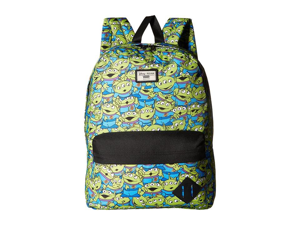 Vans Toy Story X Old Skool II Backpack (Aliens) Backpack Bags