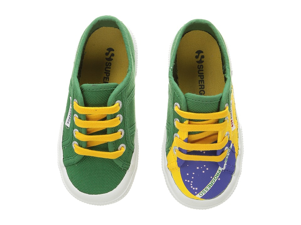 Superga Kids - 2750 COTJ FLAG (Brazil) Kid