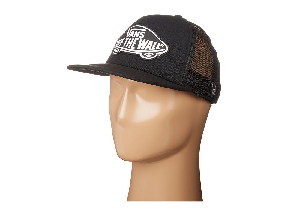 Vans - Beach Girl Trucker Hat (Onyx/White) Caps