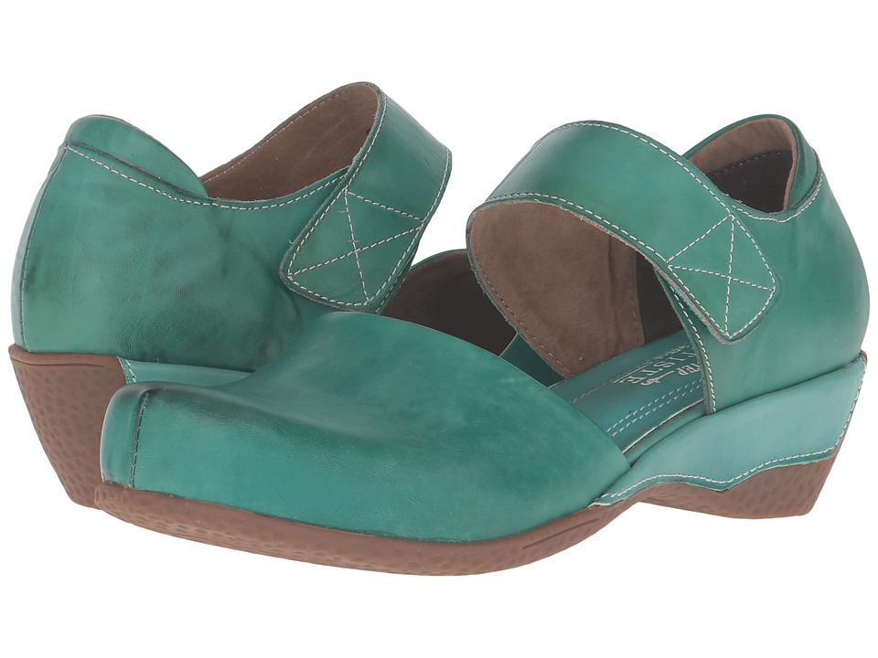 L'Artiste by Spring Step - Gloss (Turquoise) Women's Clog...