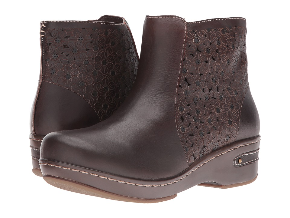 Spring Step Lene (Dark Brown) Women