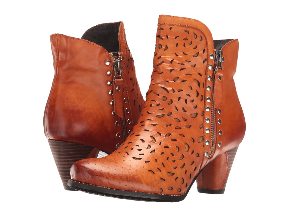 L'Artiste by Spring Step - Emese (Camel) Women's Dress Boots