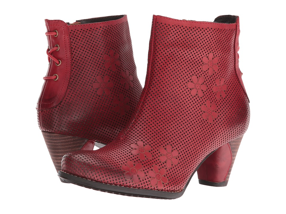 Spring Step - Teca (Red) Women