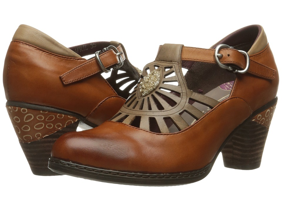 Spring Step April (Brown) High Heels