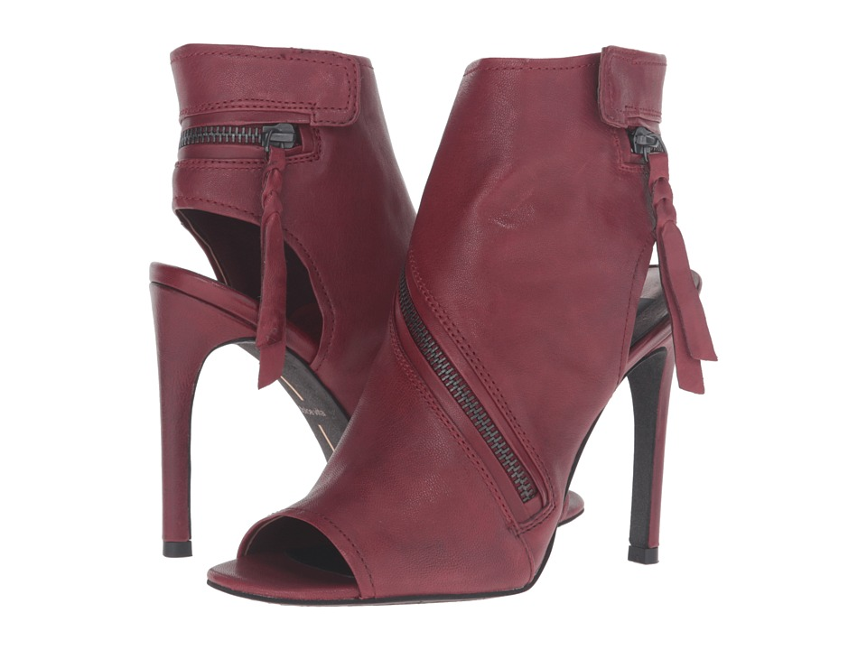 Dolce Vita Hal (Red Leather) Women