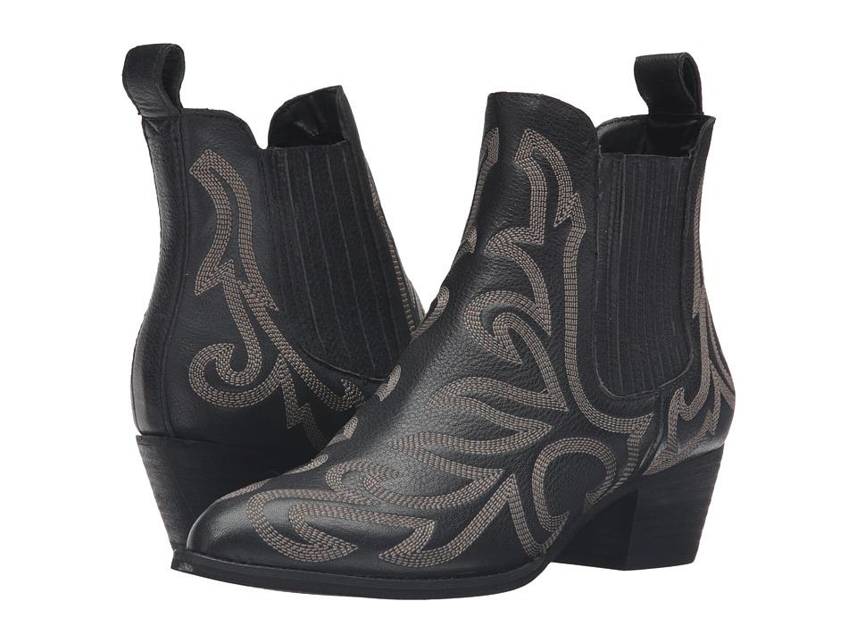 Dolce Vita - Seth (Black Leather) Women