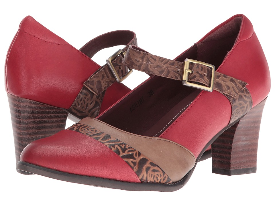 Spring Step Ashini (Red) High Heels