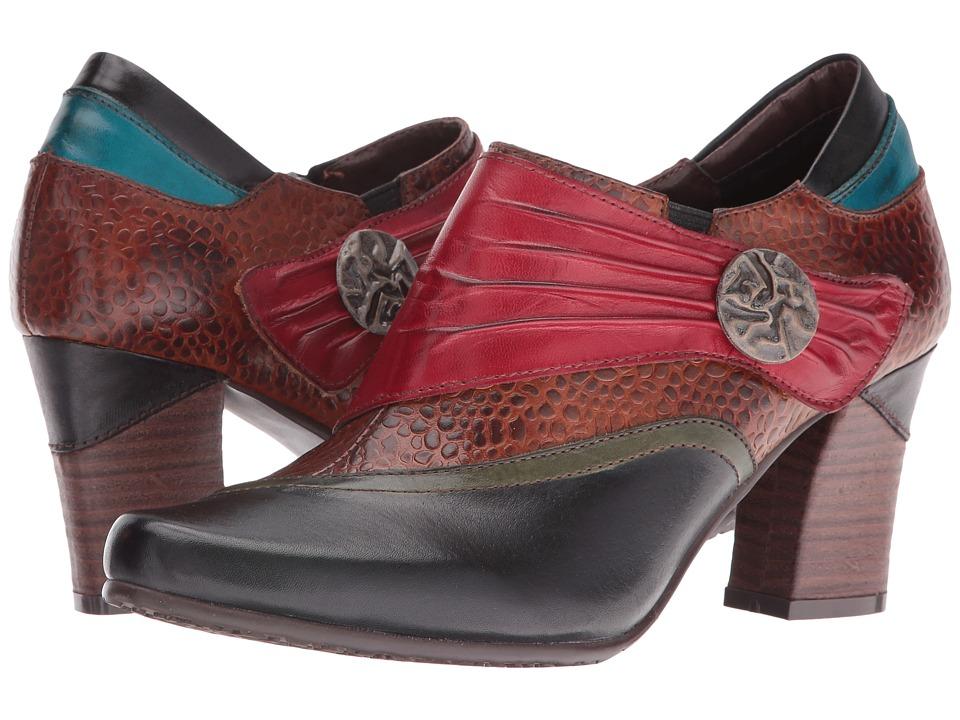 Spring Step - Fia (Black) High Heels
