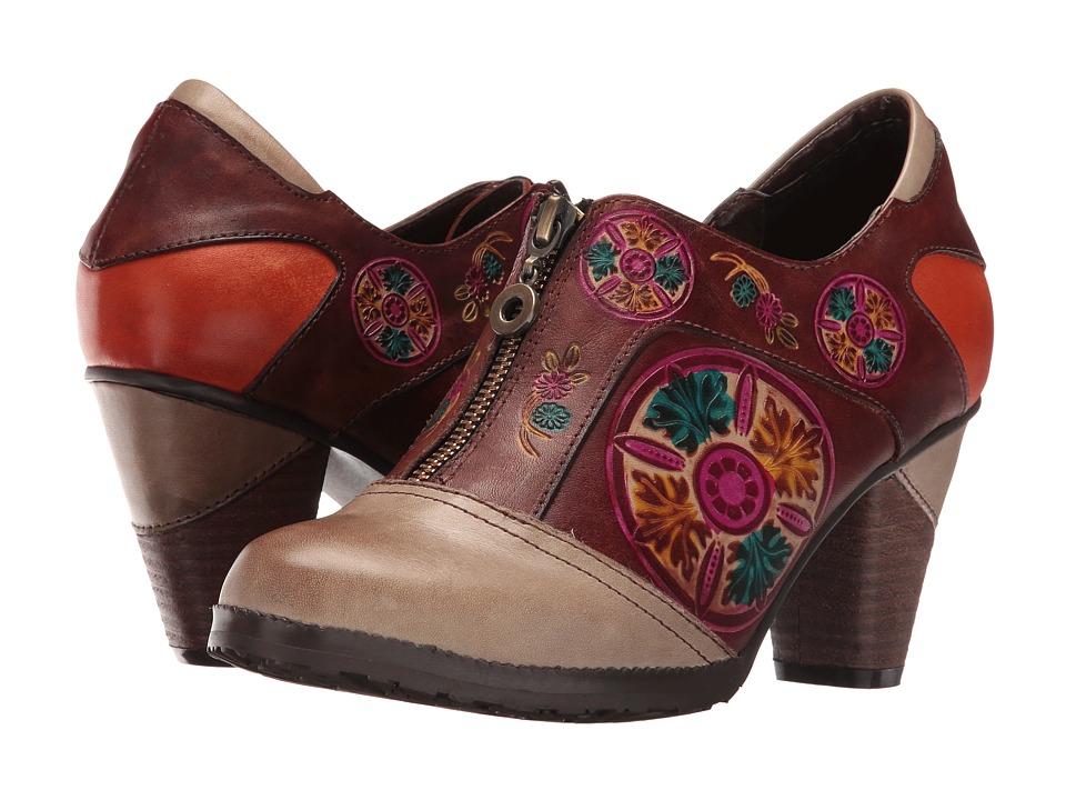L'Artiste by Spring Step - Raina (Grey) High Heels