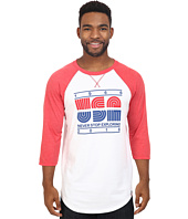 The North Face - 3/4 Sleeve USA Baseball Tee
