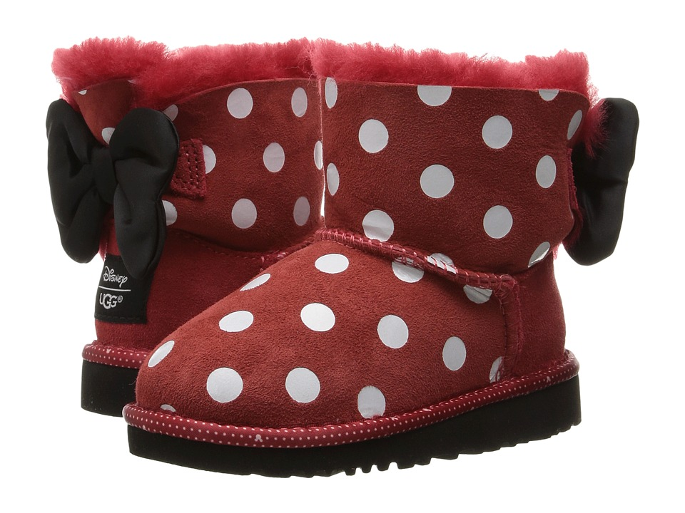UGG Kids Sweetie Bow (Toddler/Little Kid) (Red) Girl