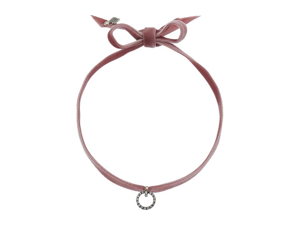 DANNIJO - VIX Necklace (Dusty Rose) Necklace
