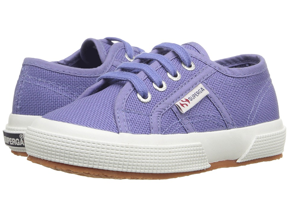 Superga Kids - 2750 JCOT Classic (Infant/Toddler/Little Kid/Big Kid) (Blue Velvet) Kids Shoes