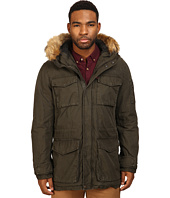 Levi's® - Long Hooded Parka w/ Fur Trim
