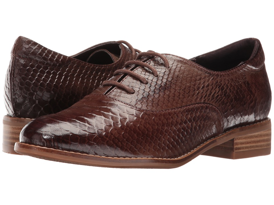 1930s Style Shoes Spring Step - Kristy Brown Python Womens Lace up casual Shoes $129.99 AT vintagedancer.com