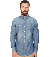 G-Star - 3301 Long Sleeve Shirt in Lightweight Boll Denim