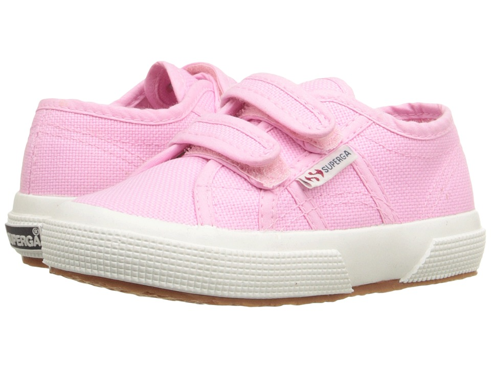 Superga Kids - 2750 JVEL CLASSIC (Infant/Toddler/Little Kid/Big Kid) (Begonia Pink) Kid