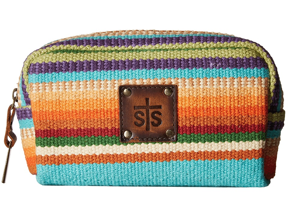 STS Ranchwear The Bebe Serape Cosmetic Bag (Tularosa Serape) Cosmetic Case