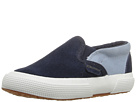 Image of Superga Kids - 2317 SUEJ (Infant/Toddler/Little Kid/Big Kid) (Blue/Relax Blue) Kid's Shoes