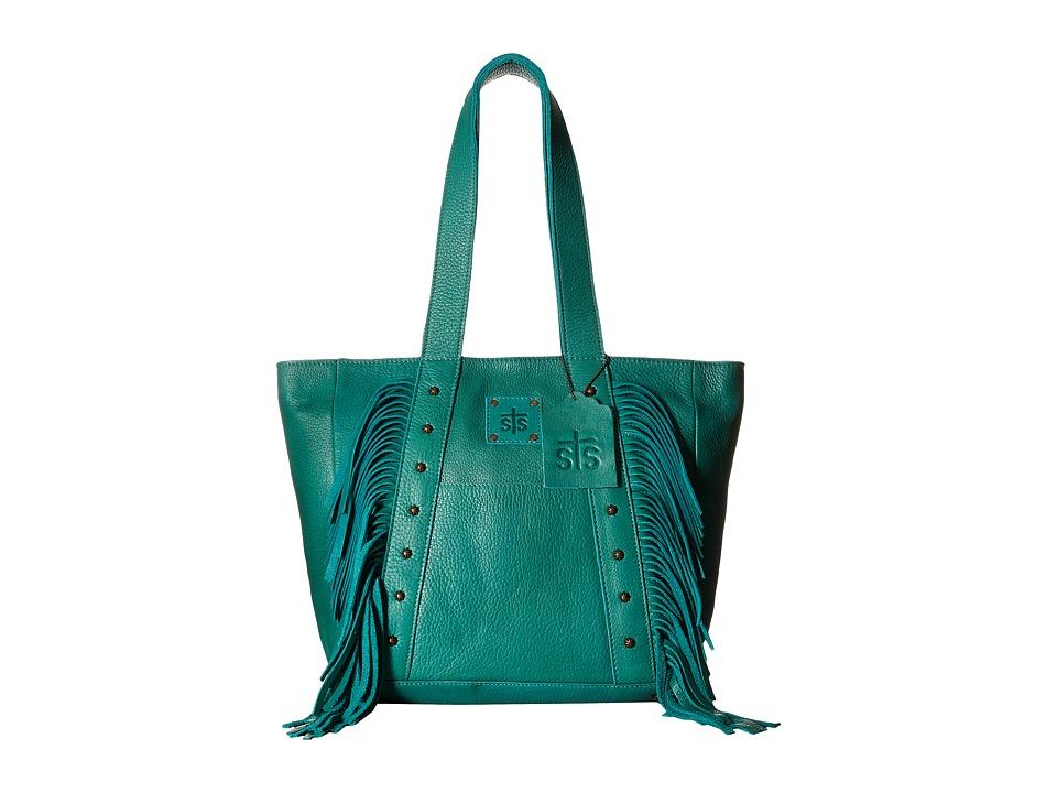 STS Ranchwear The Annie Oakley Tote Jade Tote Handbags