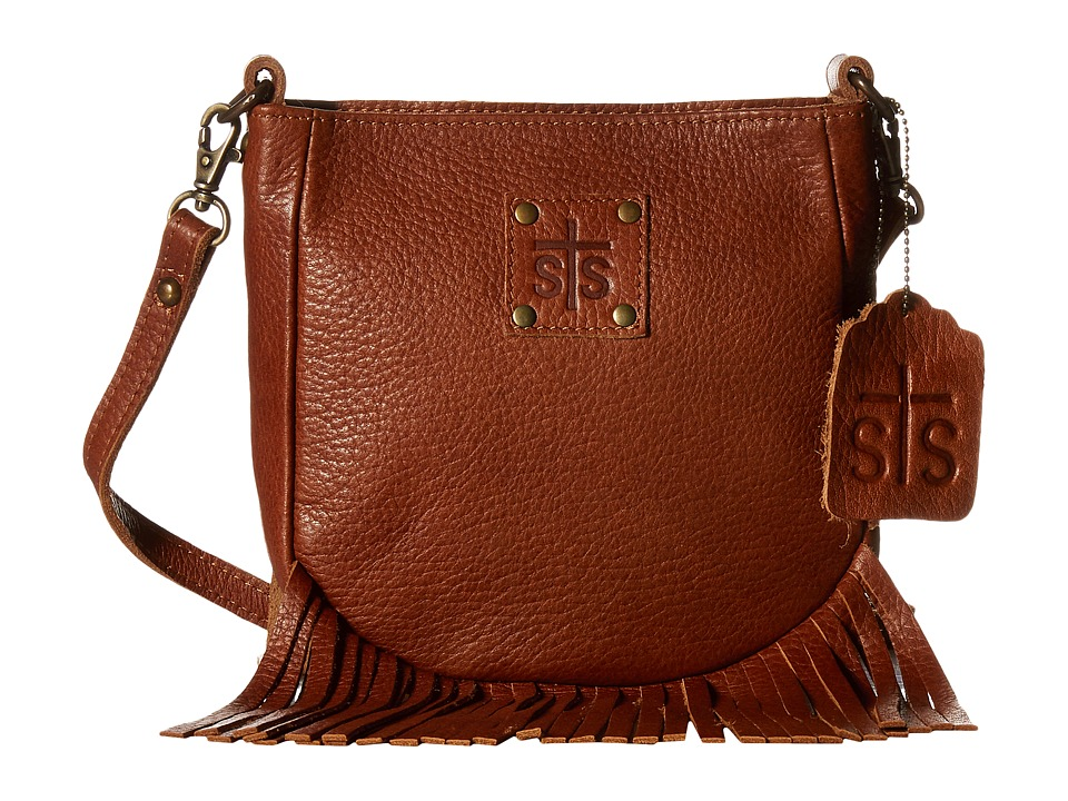 STS Ranchwear - The Medicine Bag Crossbody (Saddle Brown)...